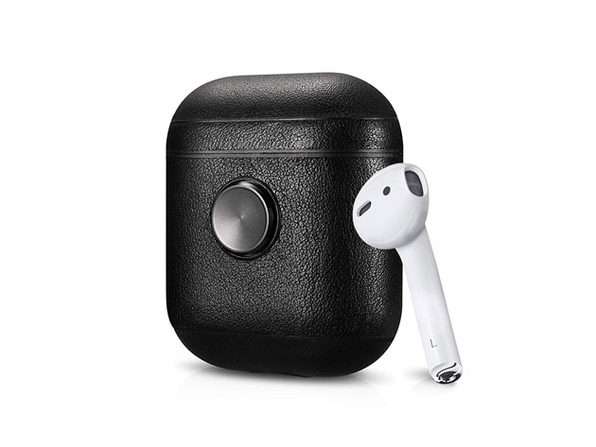 ZenPod Leather Fidget Spinning Case for AirPods: $24.99