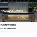 Investor Relations Page Gets Overhaul on Apple Website