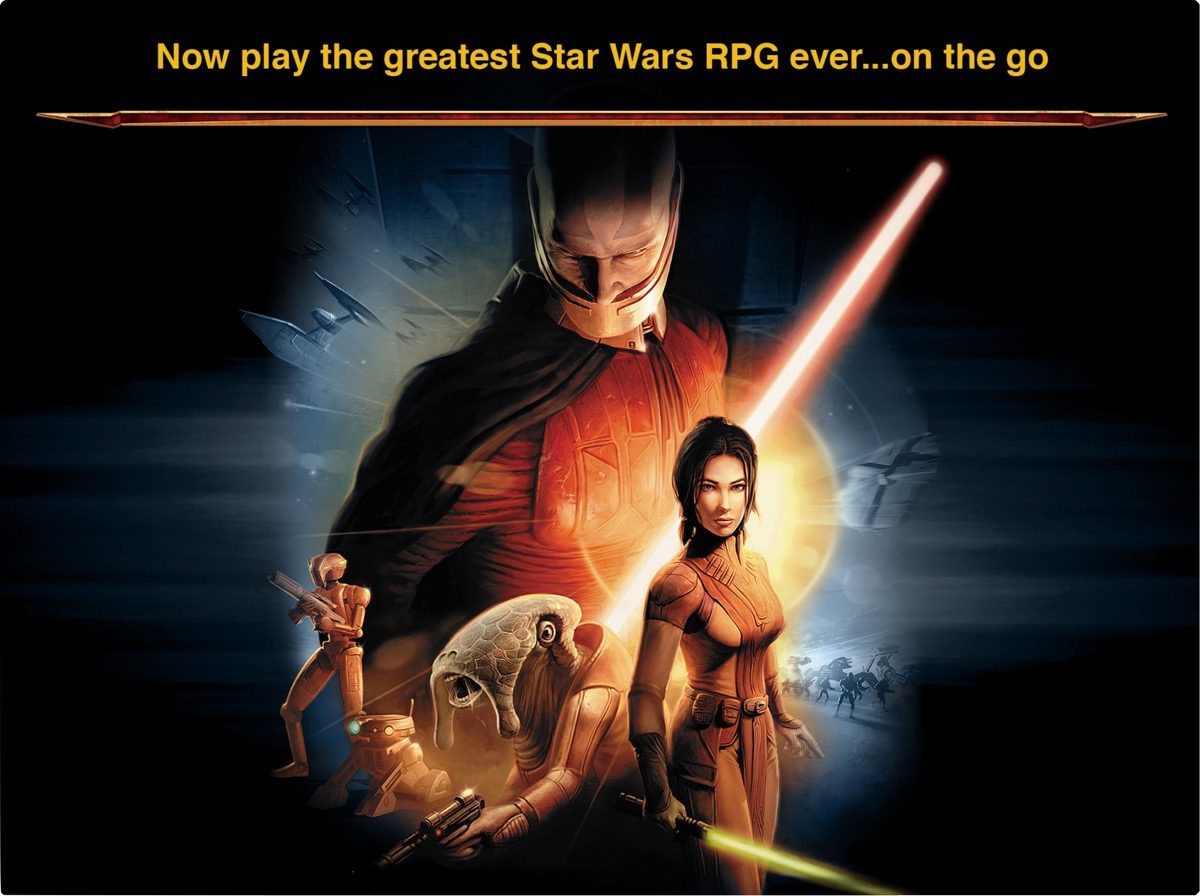 App Sale: Star Wars Knights of the Old Republic Just $4.99