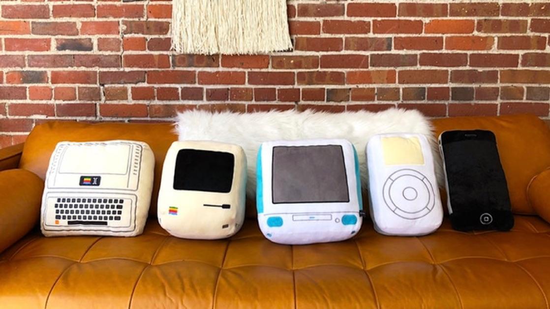 Throwboy Makes [Apple] Iconic Pillows