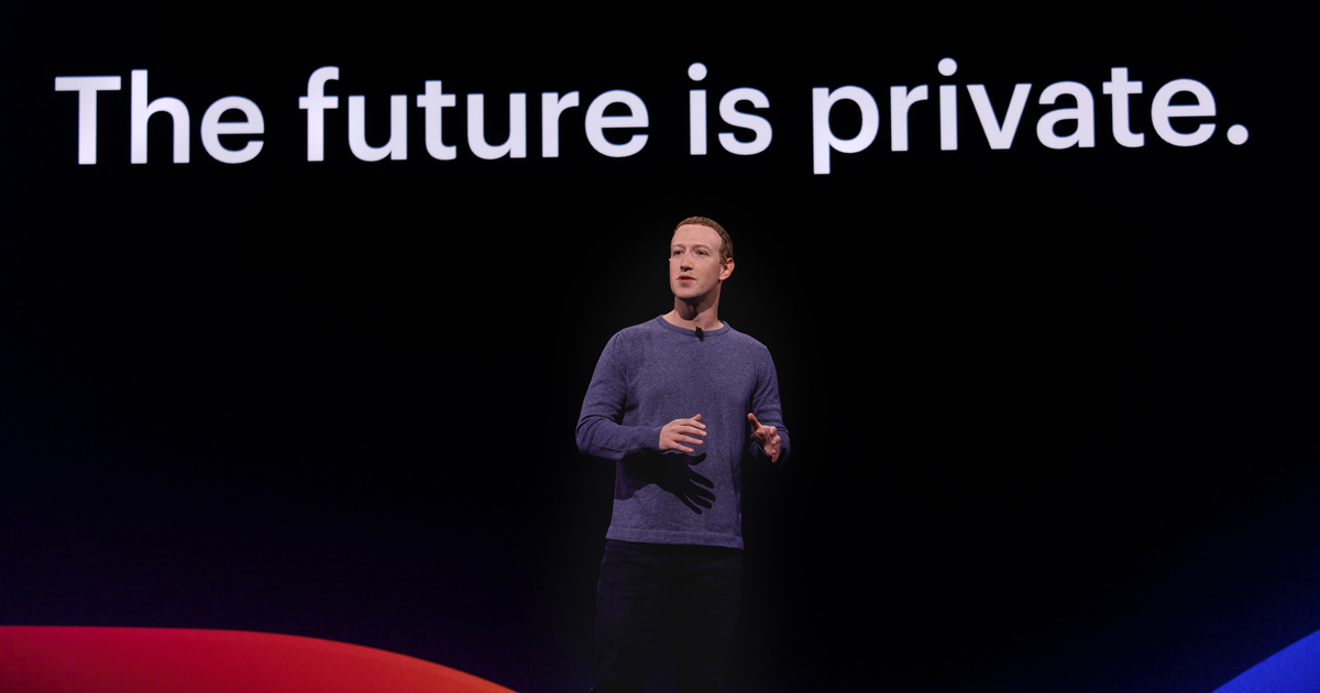 Mark Zuckerberg on Facebook's Privacy-Focussed Future