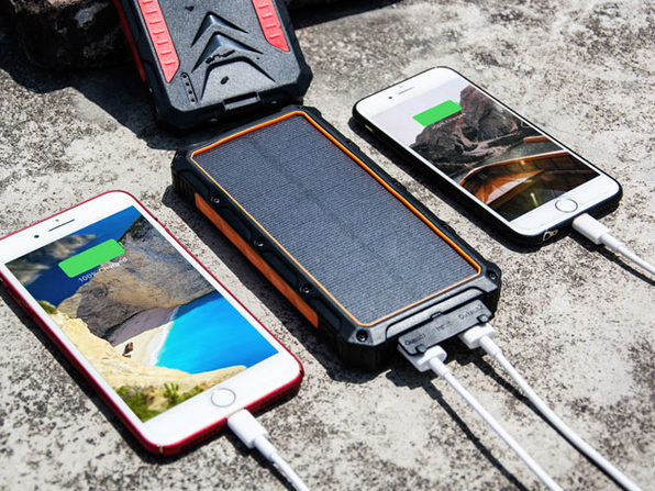 This Wireless, Ultra-Durable Charging Kit Is Essential for Your Emergency Kit: $85