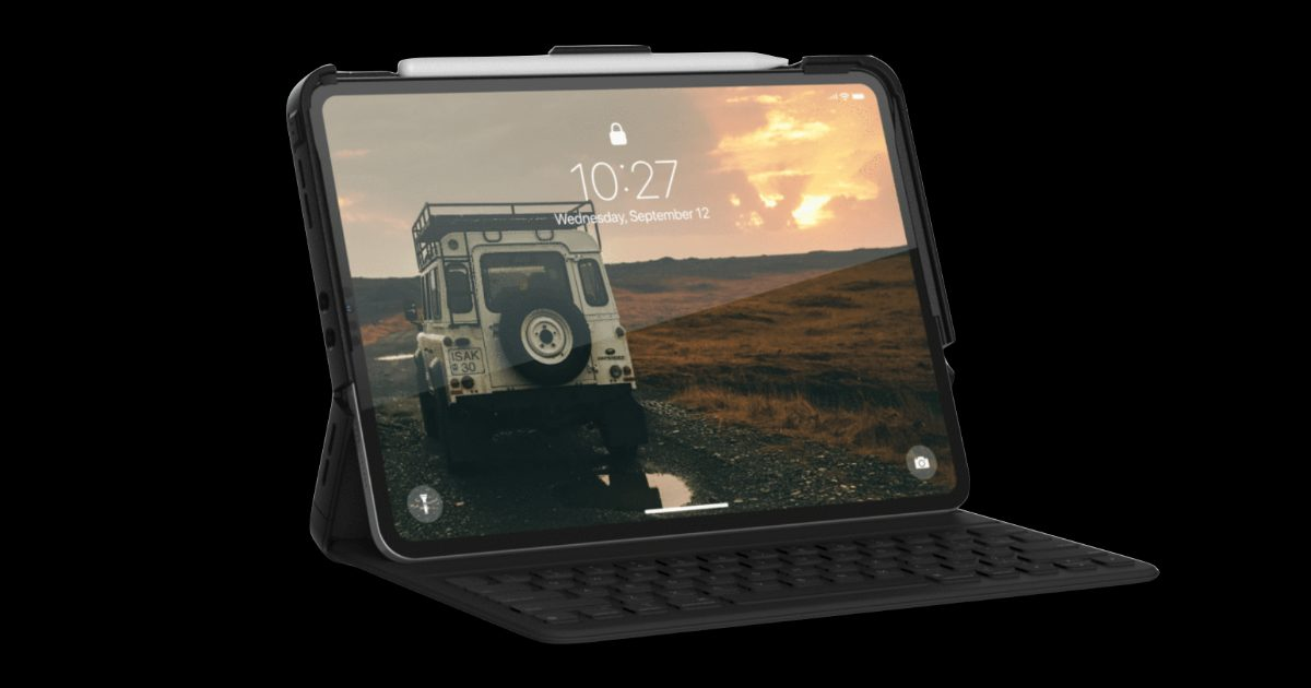 UAG Scout Series Case for iPad Pro Works With Smart Keyboard