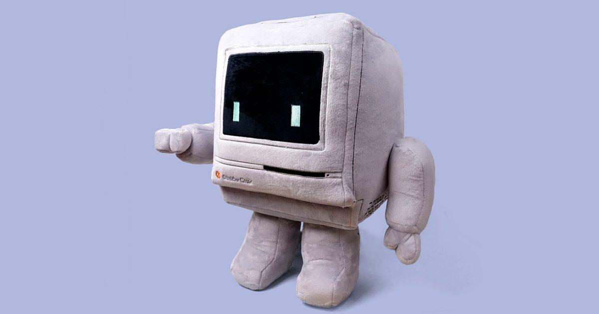 Philip Lee Creates the Classicbot Mac Plush