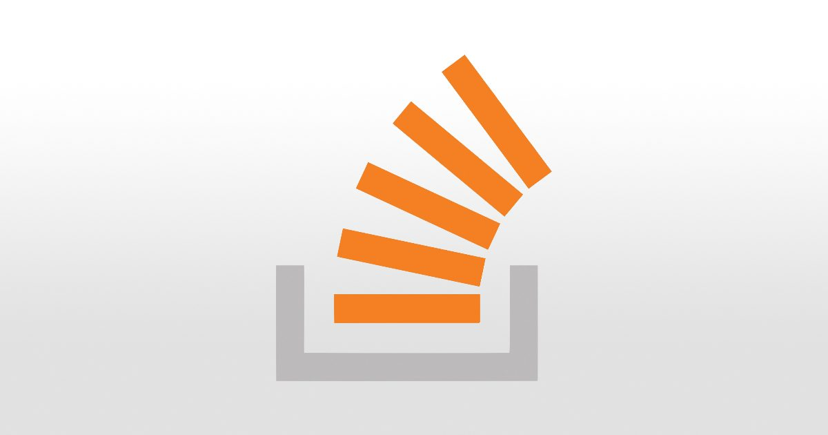 Stack overflow breach. Logo of stack overflow