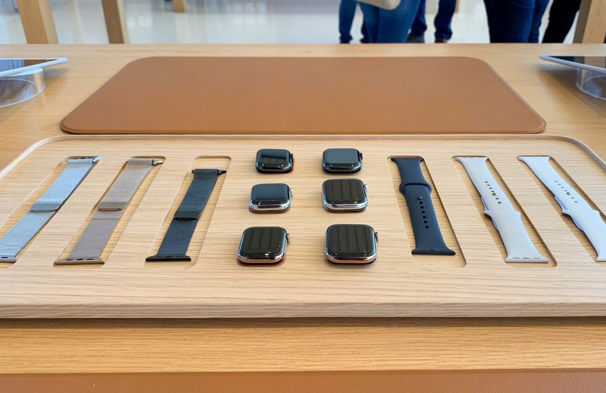Deirdre O'Brien Apple Watch table