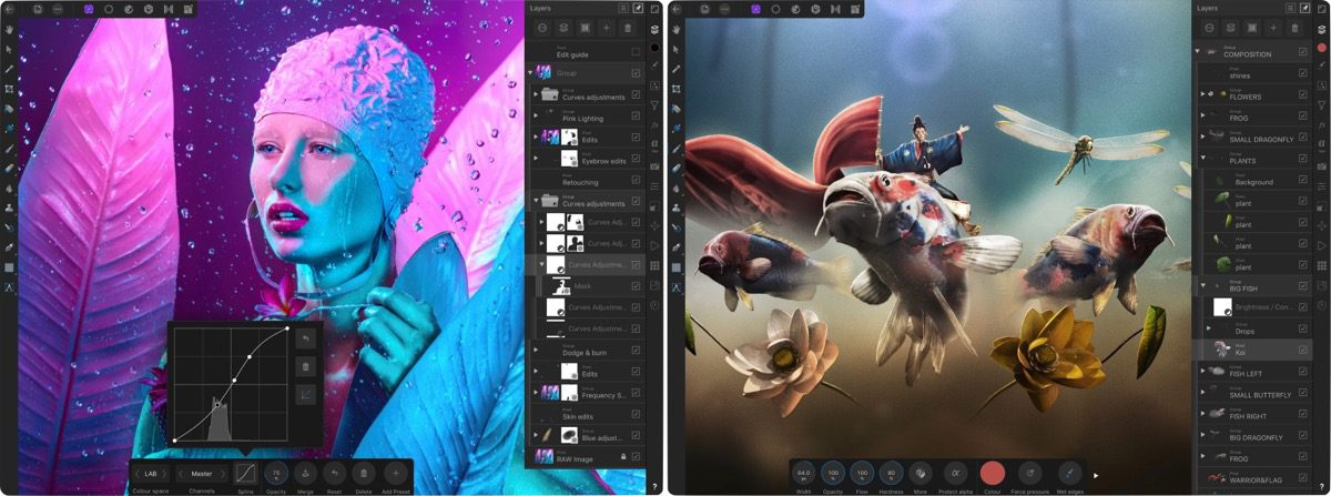 Affinity Photo 1.7.0 Adds Assets Panel, Stock Panel, and More