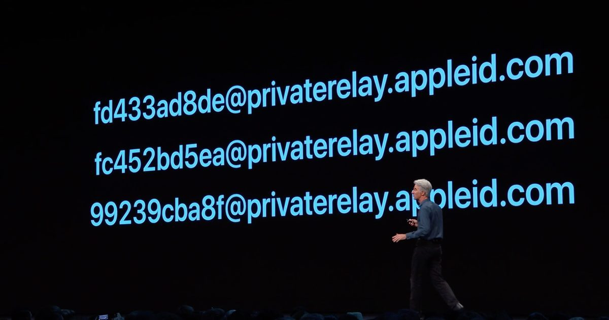 privacy Sign in with Apple