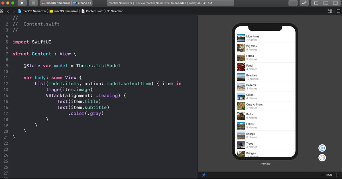 Apple developer tool