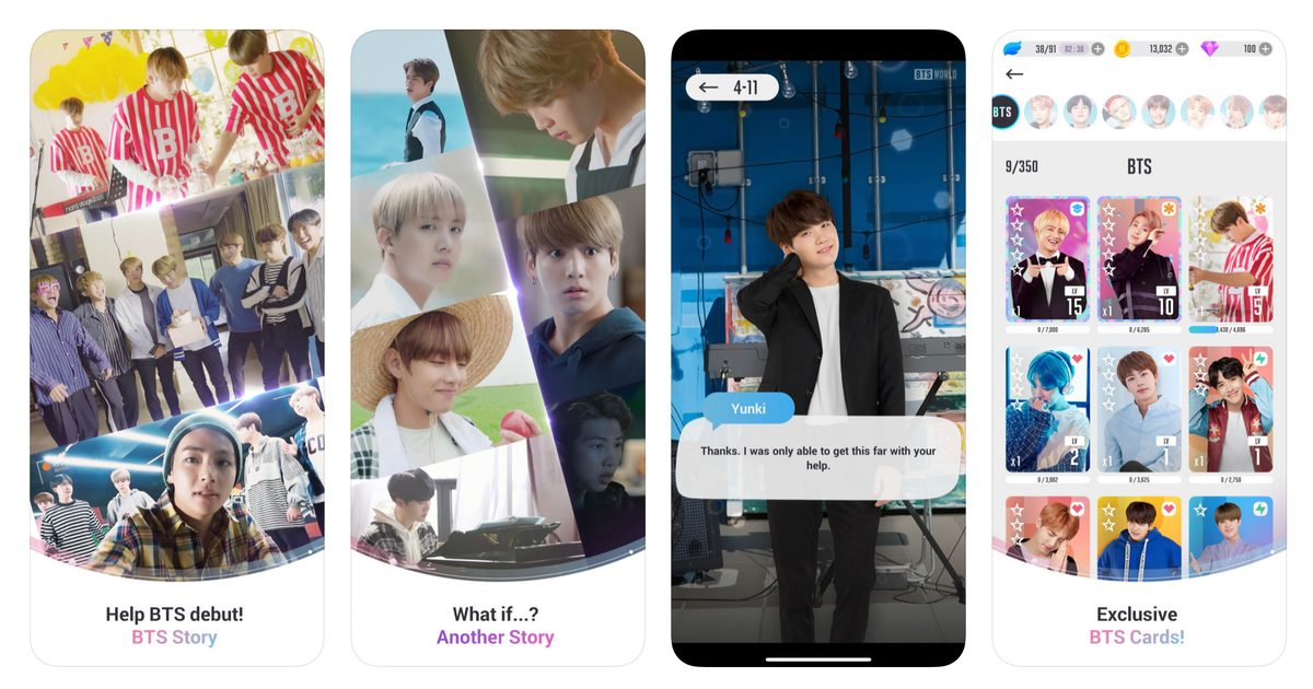 Manage Pop Superstars BTS in New iOS Game