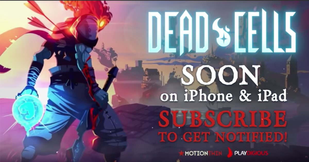 Pre-order Dead Cells on iOS Now