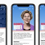 Democratic Presidential Hopefuls Guide Available in Apple News