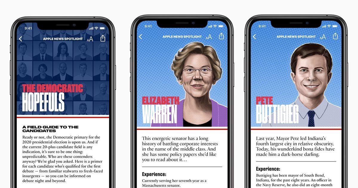 Democratic Candidates Guide