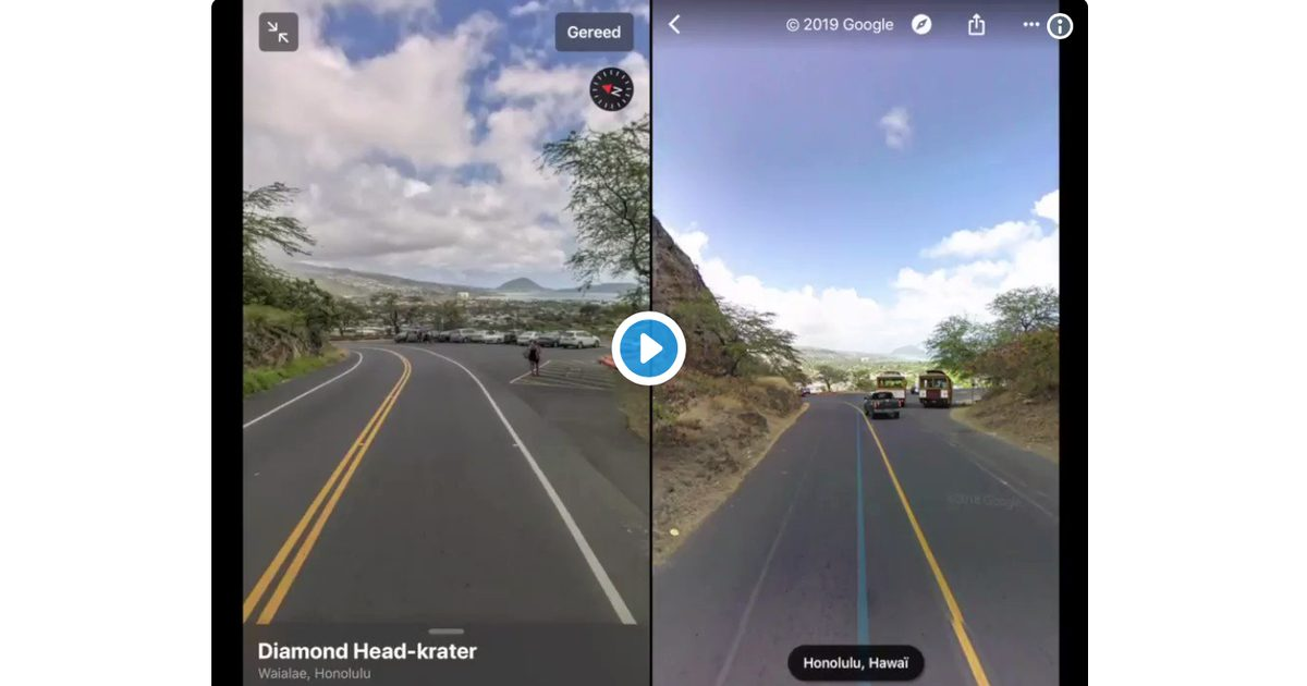 LooksAround vs Street View