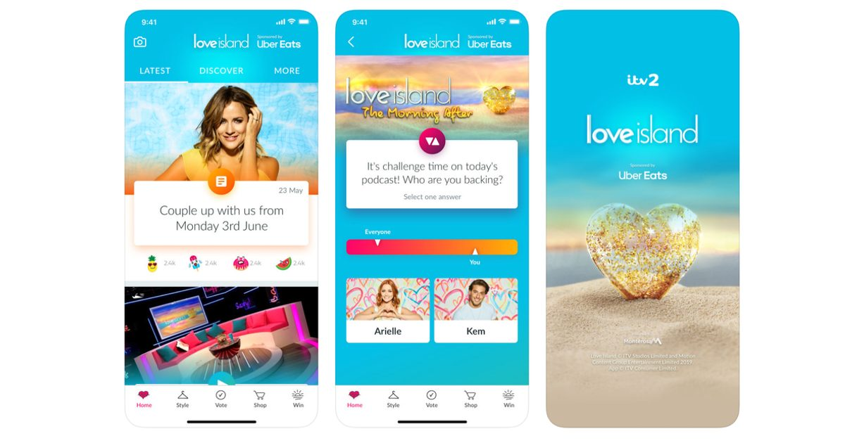 Love Island Official App for iPhone