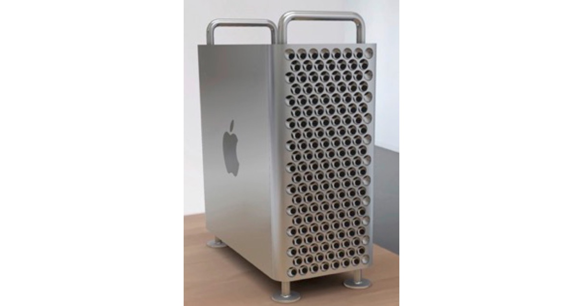 Apple's Cheese Grater Mac Pro Gets a Tease From Ikea