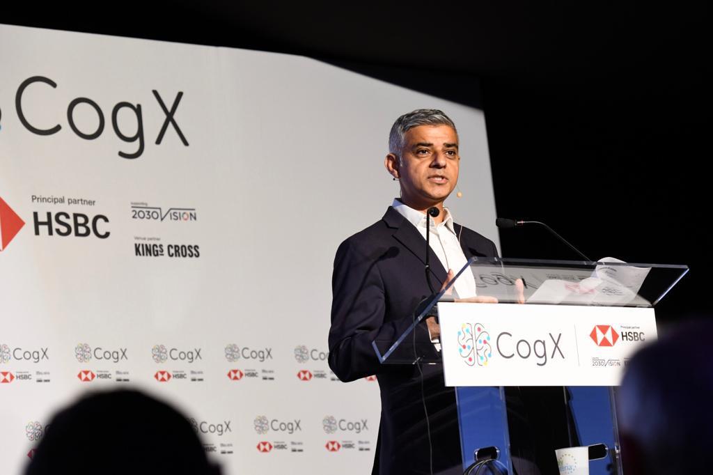 Sadiq Kahn Brexit Tech Week