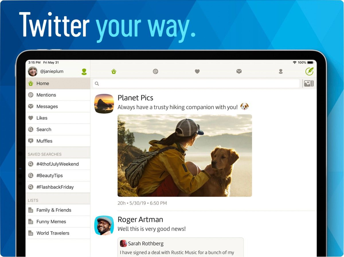 Twitterific 6 With Full Images, GIPHY Integration, and a Subscription
