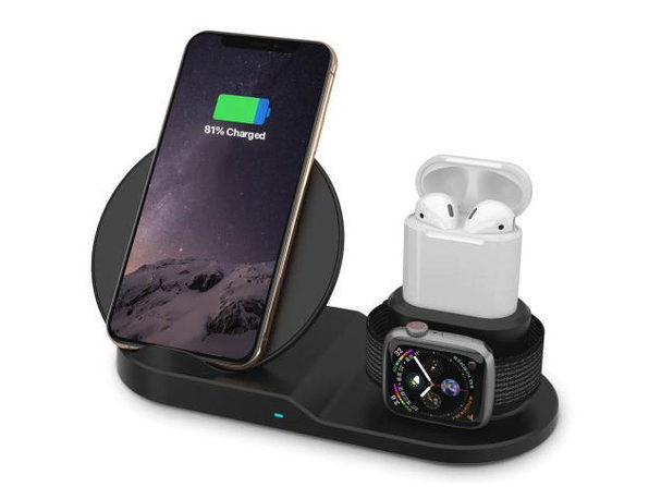 AirDock 3-in-1 Wireless Charging Station: