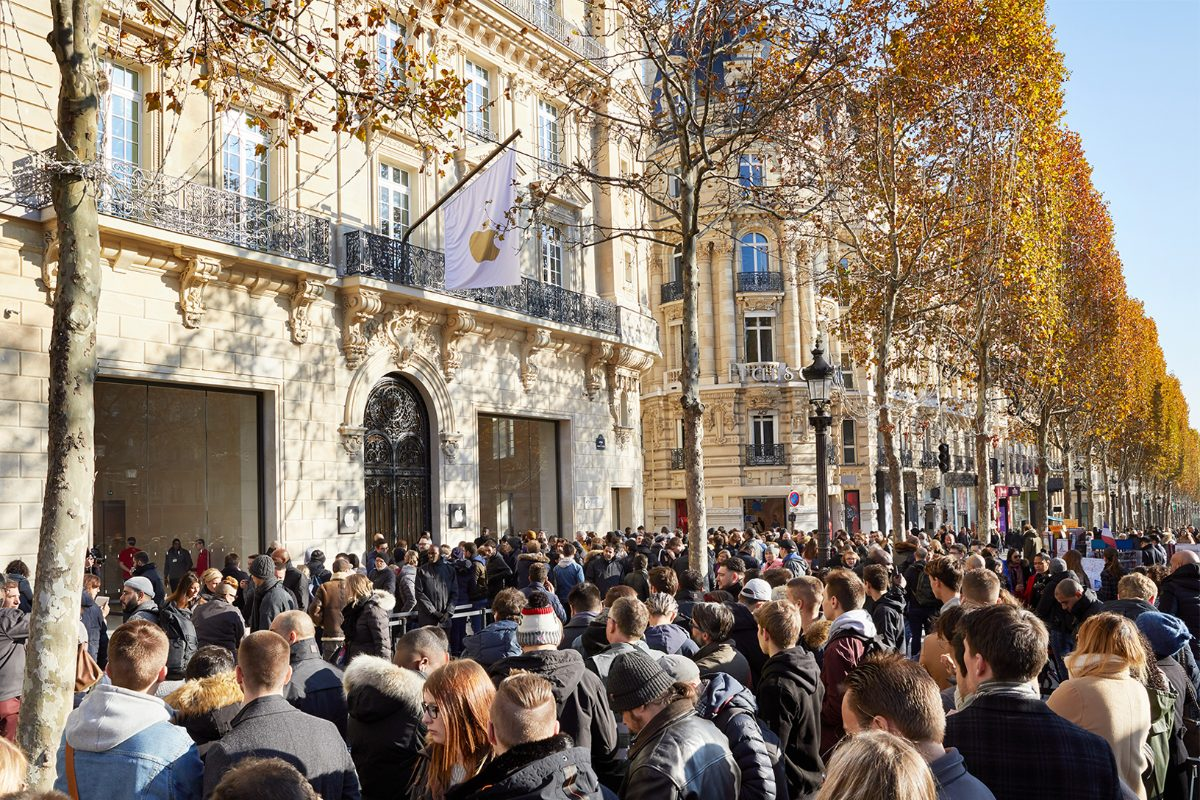 apple champs-elysees store