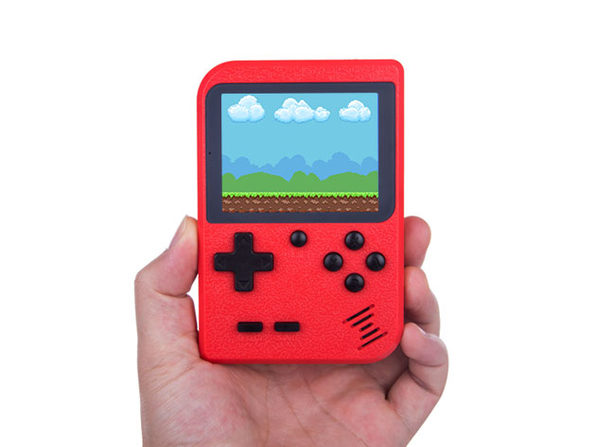 Take 400 Pre-Loaded Classic 8-Bit Games Wherever You Go with This Retro-Inspired Handheld: $29.99