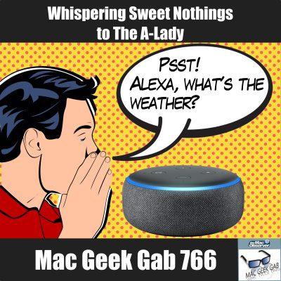 Whispering Sweet Nothings to Amazon Alexa
