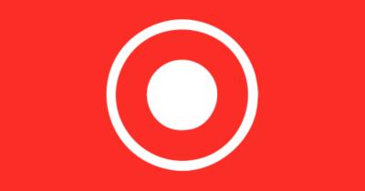 iOS screen recording icon