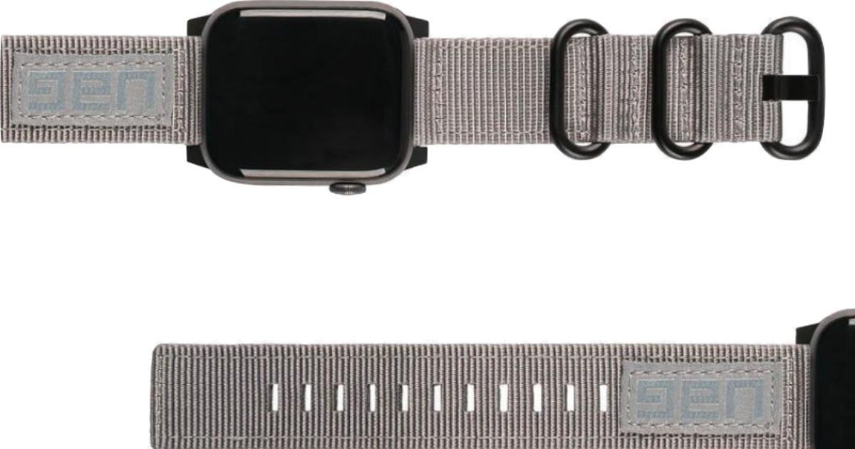 Urban Armor Gear Launches Nato Strap for Apple Watch