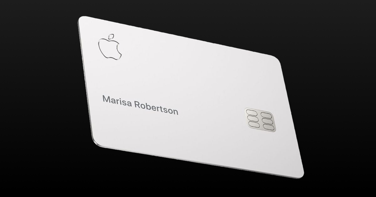 Apple Card is 90% Made of Titanium