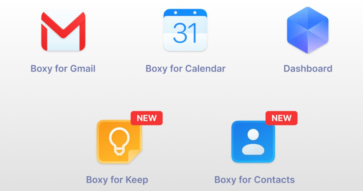 Body Suite 2 Update Offers New Keep and Contacts Apps