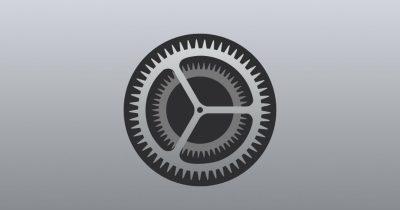 Image of apple's settings app