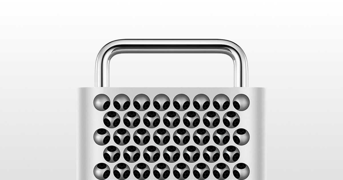 Apple's 2019 Mac Pro