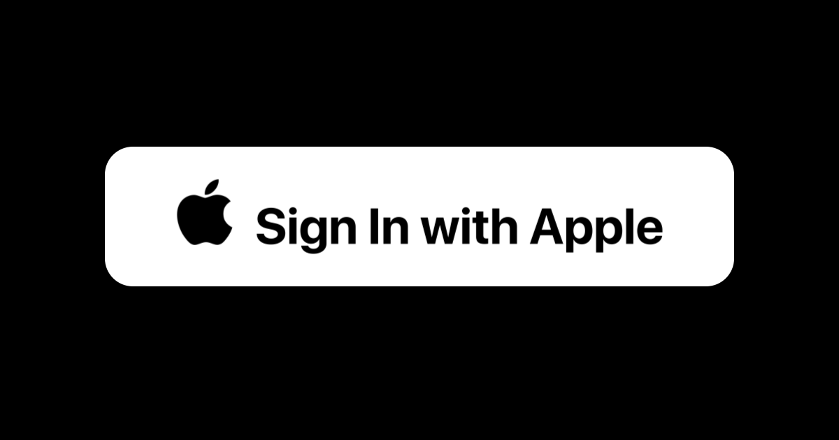 We're Still Waiting for Sign In with Apple to Take Off