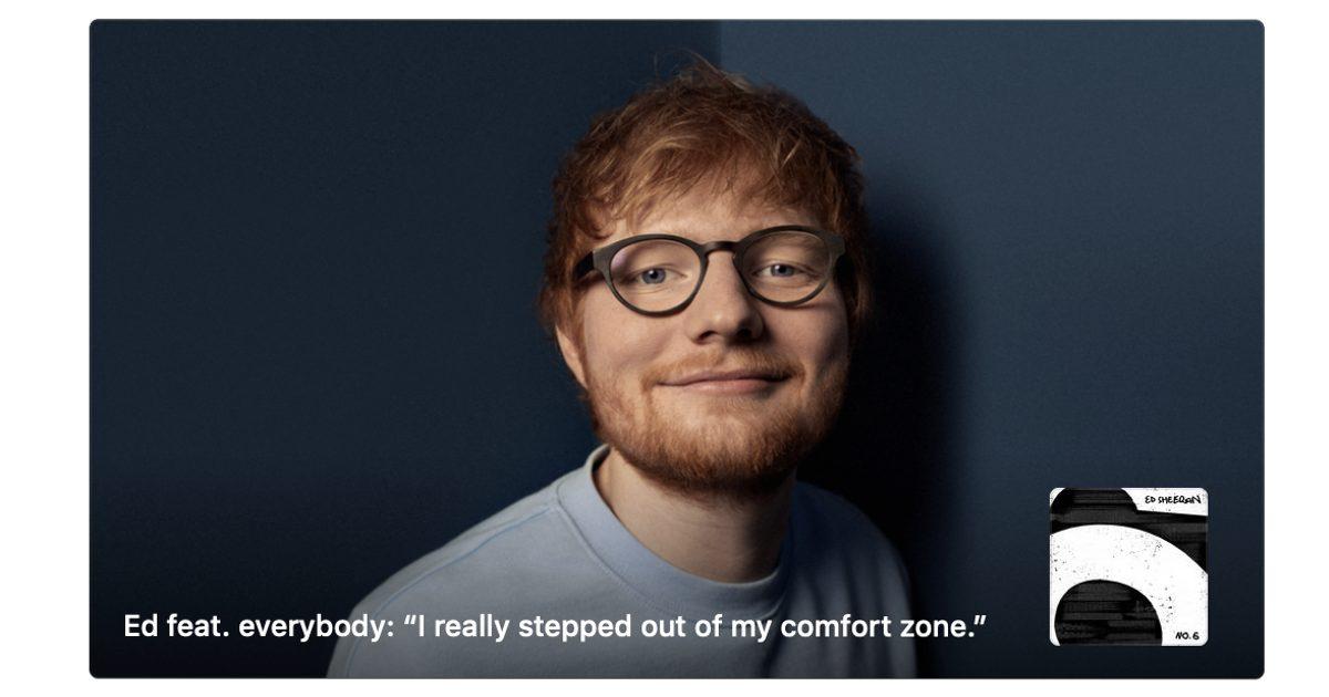 Ed Sheeran Apple Music