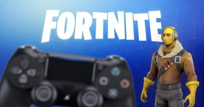 Fortnite and controller
