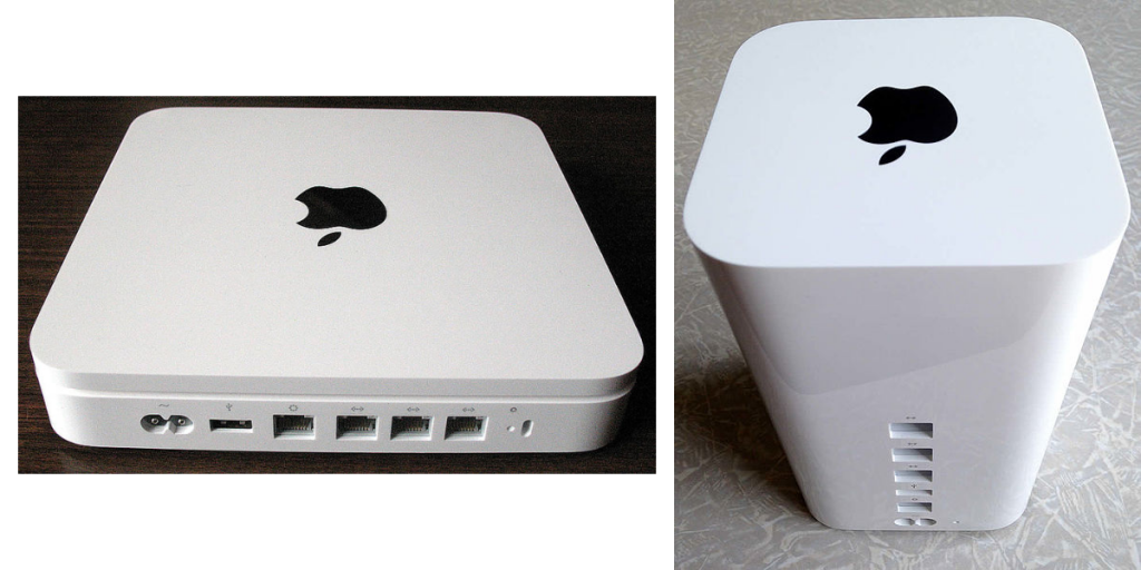 The Time Capsule was a hardware device that combined a wireless router with a built-in hard disk to offer wireless backup using Time Machine.