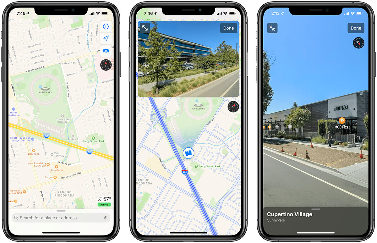 Detailed Look at Apple Maps in iOS 13