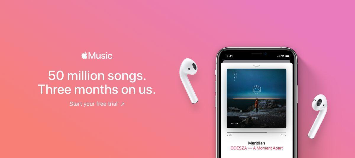 apple music free trial