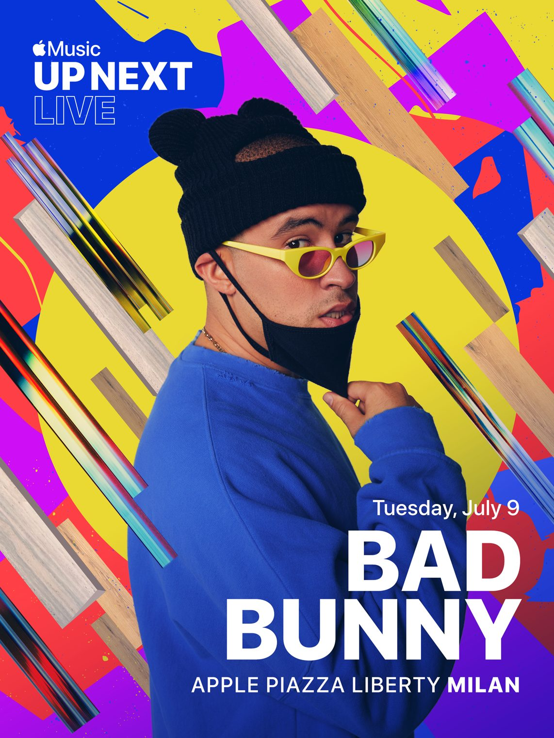 up next live poster bad bunny