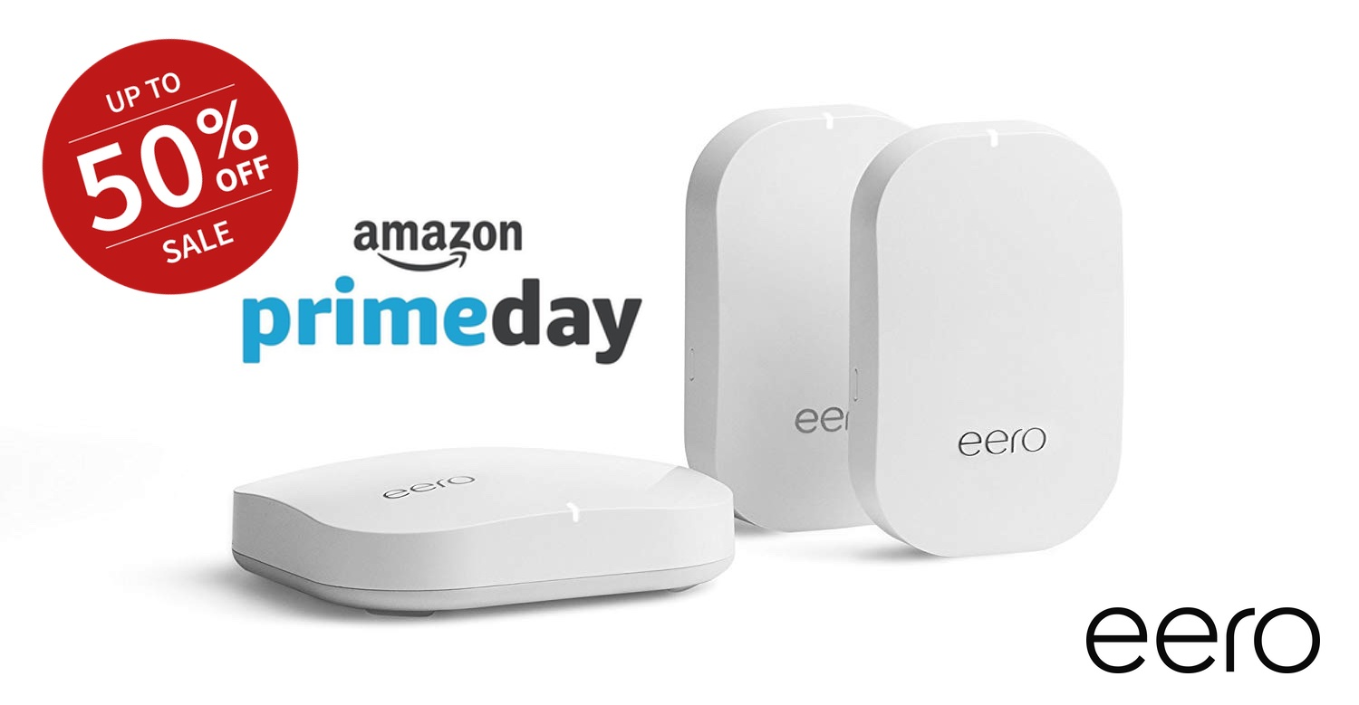 Get eero Mesh Wi-Fi for up-to-50% Off for Amazon Prime Day