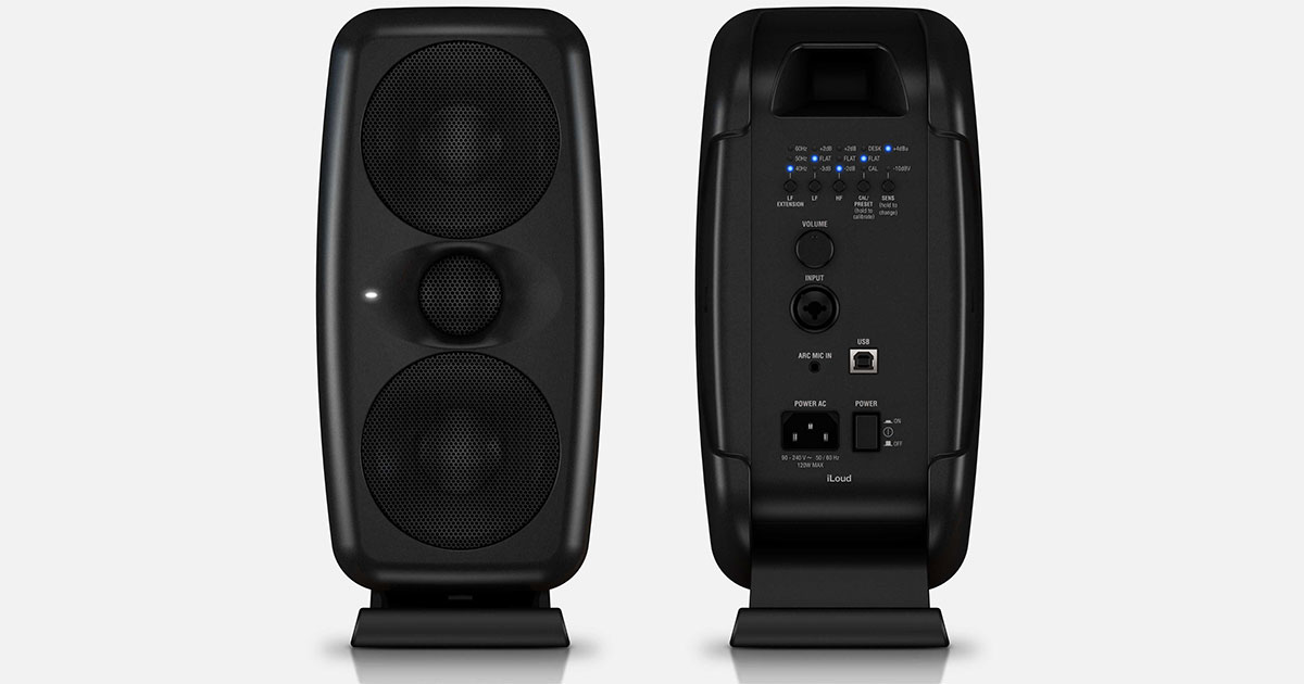 IK Multimedia Launches Desktop Reference Monitors for Home and Pro Recording