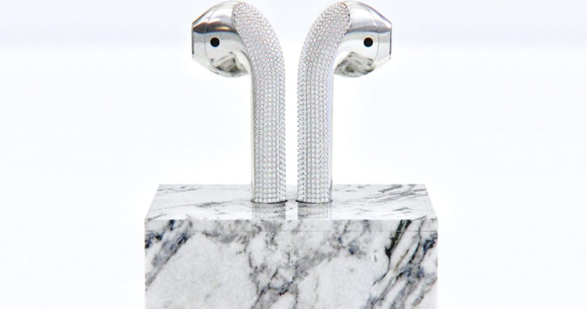 You Can Buy Diamond-Encrusted AirPods for $20,000