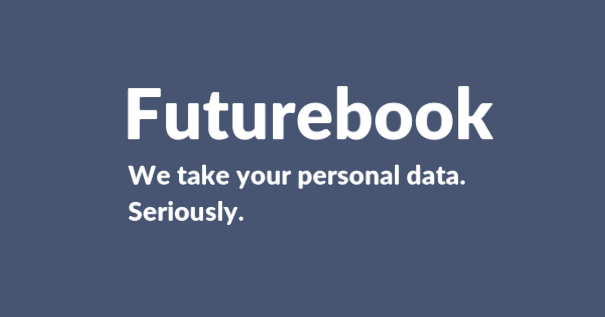 Futurebook is a Parody Dystopian Social Media Site