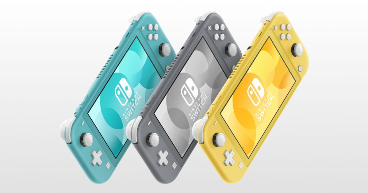 Nintendo Switch Lite Coming in September for $199