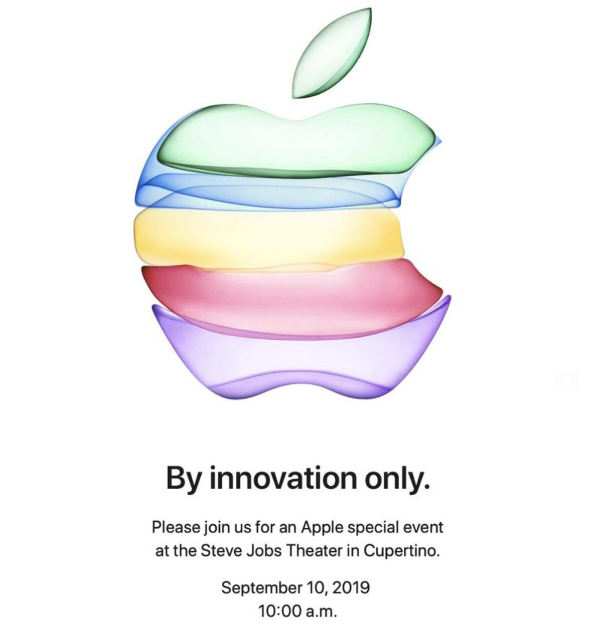 2019 apple media invite