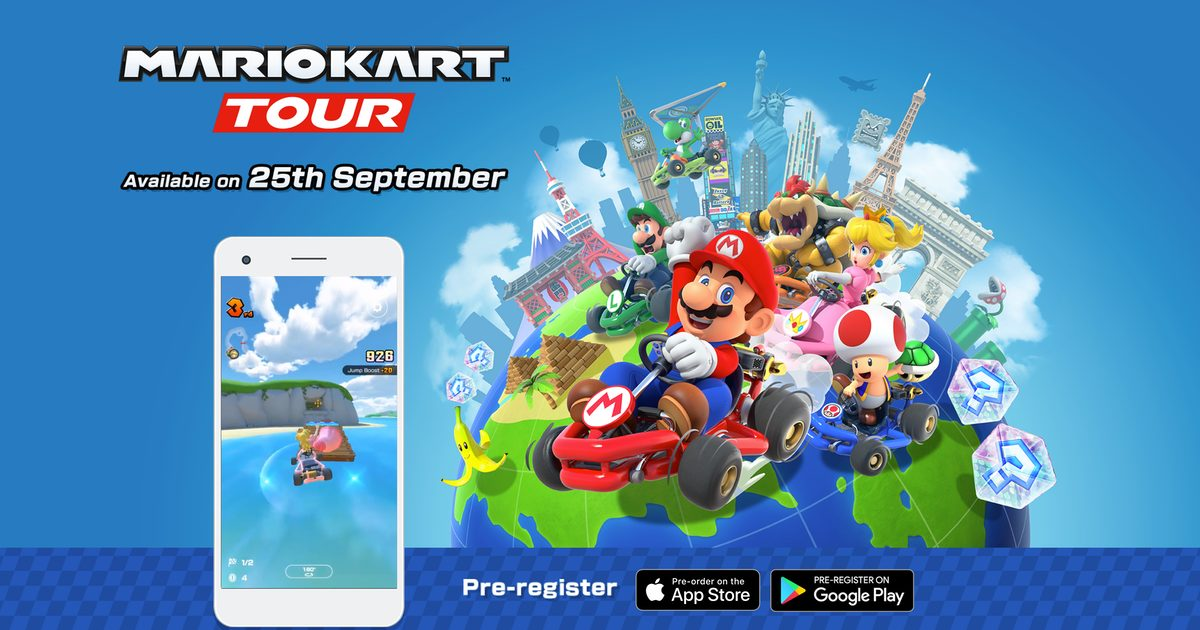 Mario Kart mobile game hits your Android, iPhone on September 25