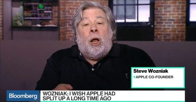 Steve Wozniak Split Apple