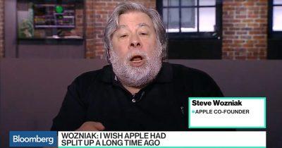Steve Wozniak Split Apple