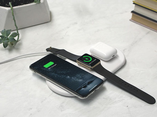 AirZeus 3-in-1 Fast Wireless Charging Pad: $33.99
