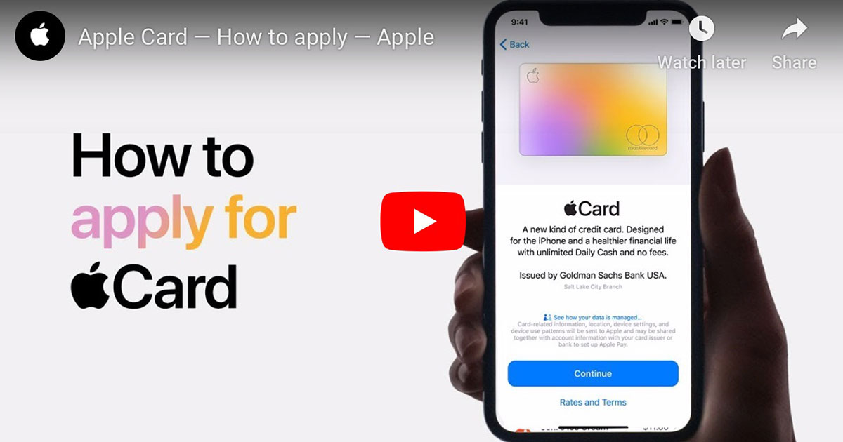How to Apply for Apple Card [Video] - The Mac Observer
